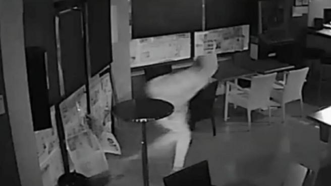 Imagen de uno de los robos.