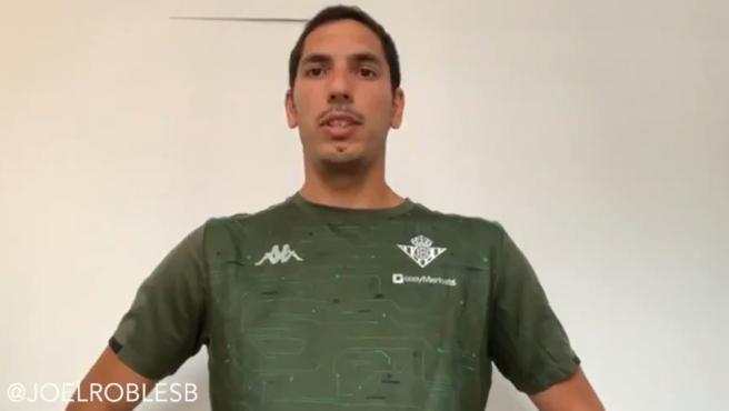 Joel Robles, portero del Betis.