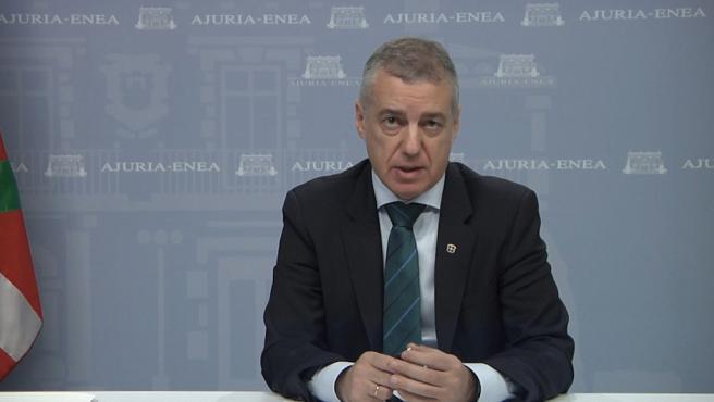 """Urkullu pide que se clarifique el margen de deuda y déficit, de forma """"urgente"""""""