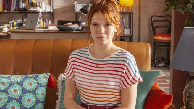 La actriz Diana Gomez posa para la promoción la serie 'Varela' (Netflix), en Madrid.