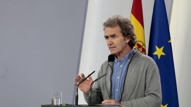 El director del Centre de Coordinació d'Alertes i Emergències Sanitàries, Fernando Simón,