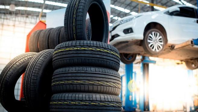 Imagen de neumáticos.