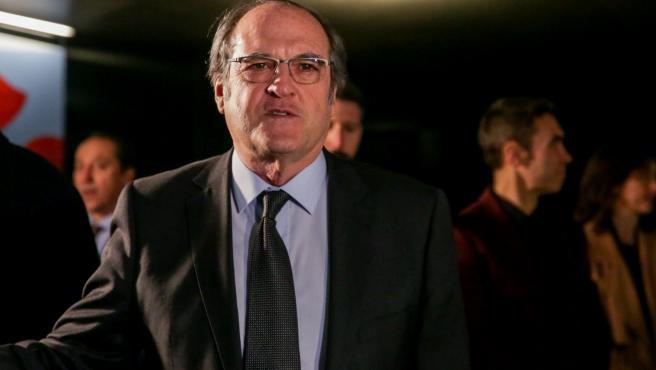 Imagen de recurso del portavoz del Grupo Socialista en la Asamblea de Madrid, Ángel Gabilondo.