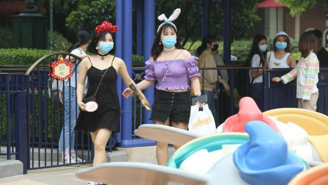 reapertura de Disneyland Shanghai.