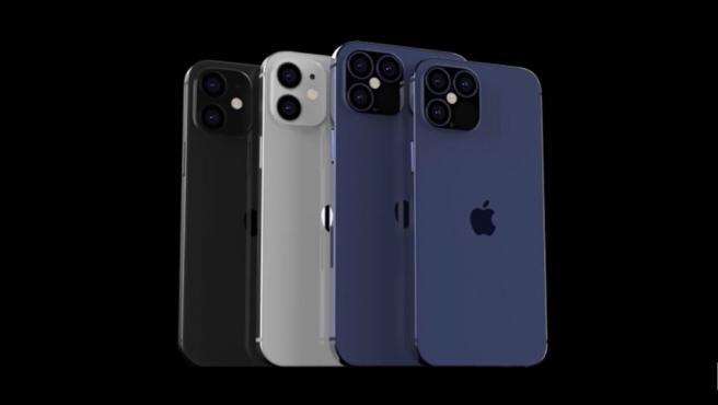 Renders del nuevo iPhone 12.