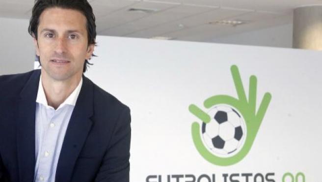 Juanjo Fernández, presidente de 'Futbolistas ON'