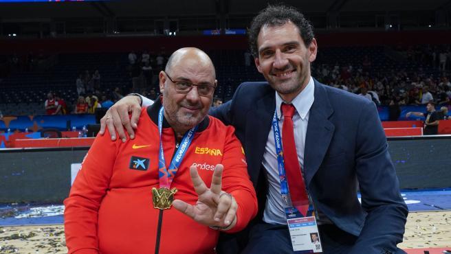 Mondelo y Garbajosa celebran el título