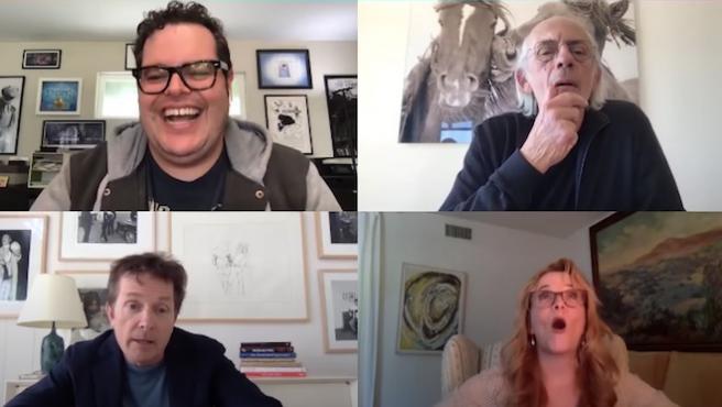 'Regreso al futuro' reúne a todo el reparto en una videollamada histórica