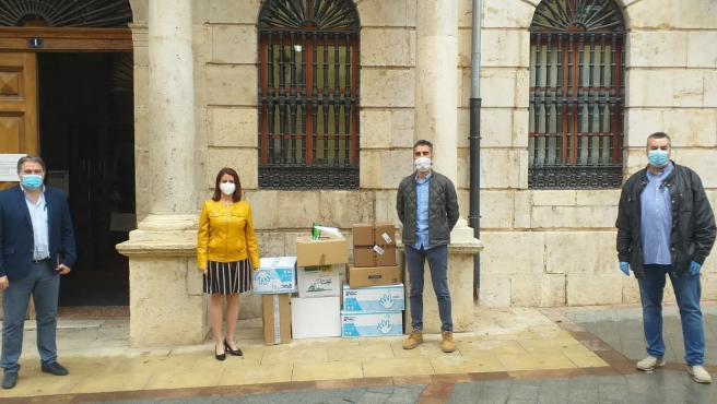 El Ayuntamiento de Teruel repaetirá las mascarillas con la ayuda de la Policía Local