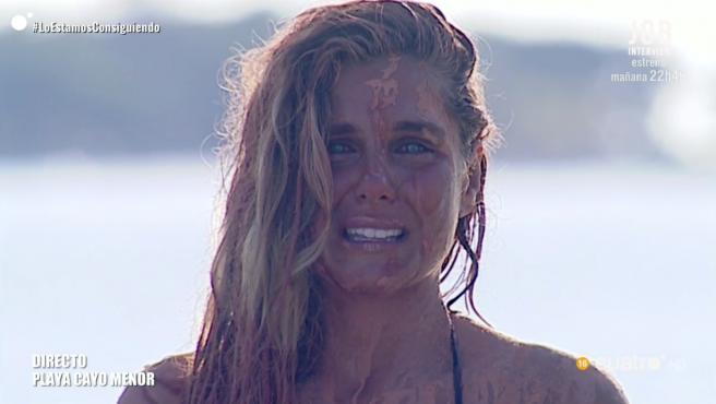 Ivana Icardi, en 'Supervivientes: Tierra de nadie'.