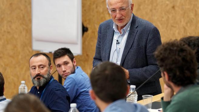 Juan Roig_impulsor de Llançadora_en una sessió amb emprenedors