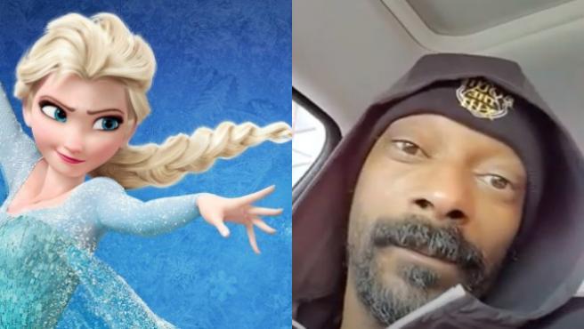 Snoop Dogg escuchando 'Let It Go' ('Frozen') en su coche es lo mejor que vas a ver hoy