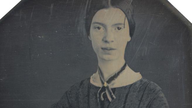 Daguerrotipo de Emily Dickinson.