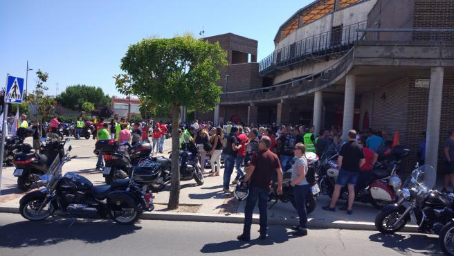 Foto de archivo de la celebración del Día Nacional de la Moto en Laguna en 2017.