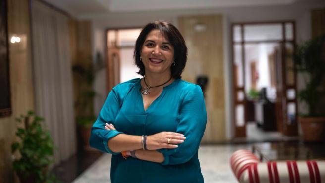 La teniente de alcalde y concejal de Servicios Sociales, Eva Timoteo, en una foto de archivo