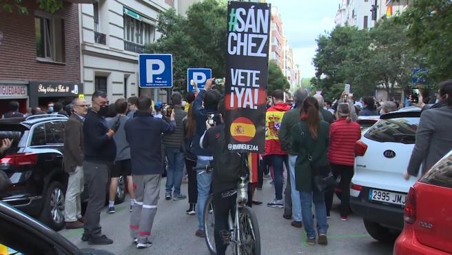 Las concentraciones en Núñez de Balboa centran el debate político