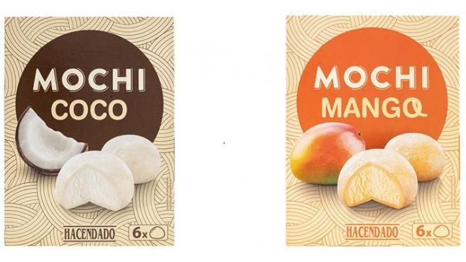 Monchis de coco y mango.