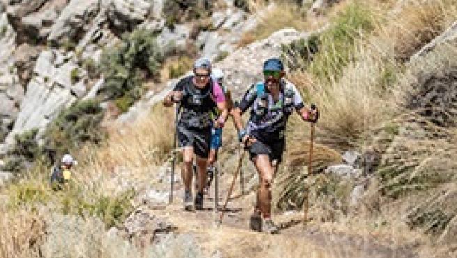 Participantes en la Ultra Sierra Nevada