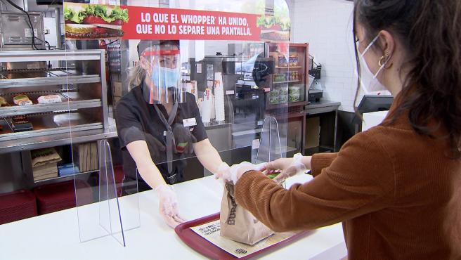 Burger King 'Más seguro que nunca' inicia la desescalada con nuevas medidas en sus locales