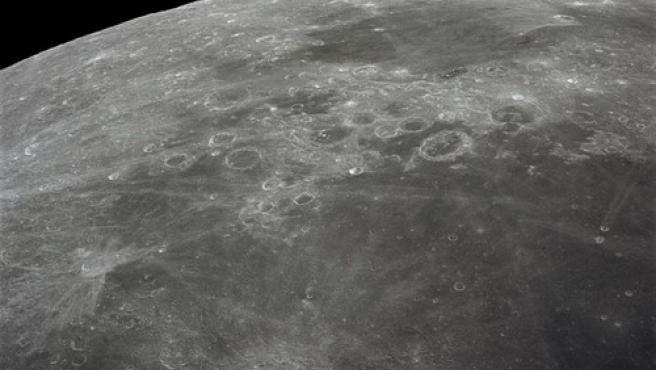 Superficie lunar.