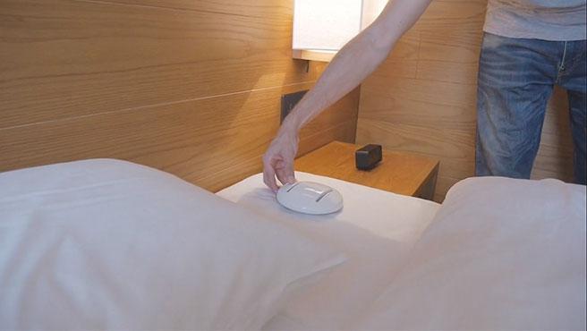 Entre 30 y 60 minutos tarda CleanseBot en vaciar de gérmenes tu cama