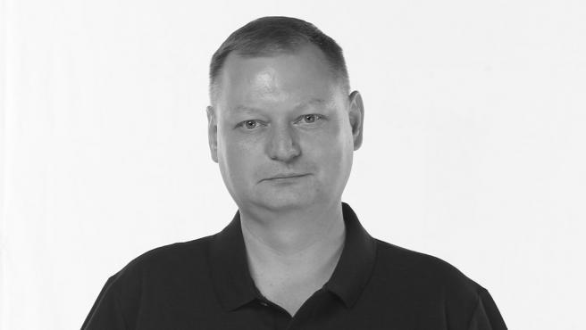 El médico del CKSA, Roman Abzhelilov.