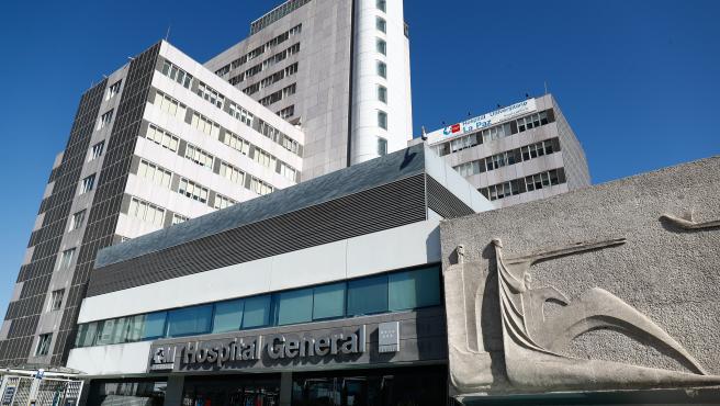 Fachada del Hospital La Paz en una imagen de archivo.
