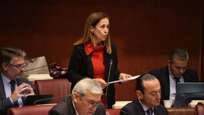 La diputada del Partido Popular en la Asamblea Regional, Clara Valverde