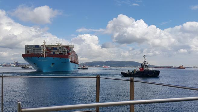 Puerto de Algeciras, foto de archivo