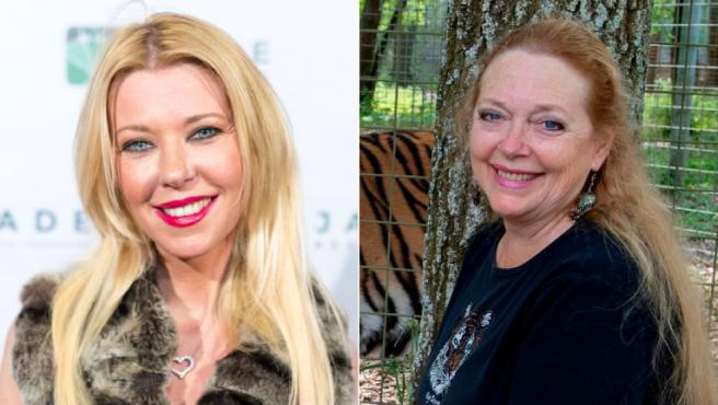 Tara Reid podría interpretar a Carole Baskin en el spin-off de 'Tiger King'