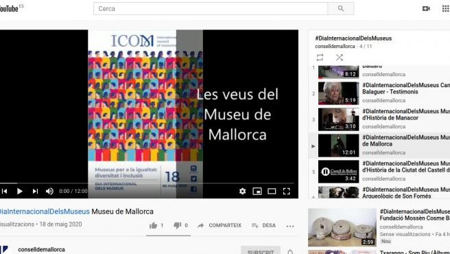 Actividades audiovisuales de los museos de Mallorca para celebrar el Día Internacional de los Museos