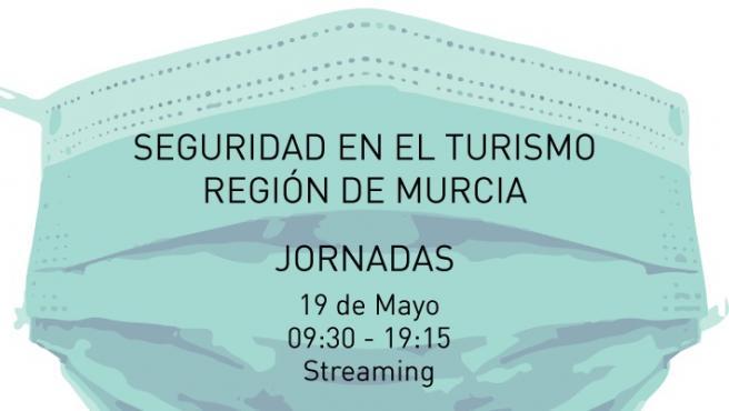 Cartel de la jornada sobre seguridad en el sector del turismo