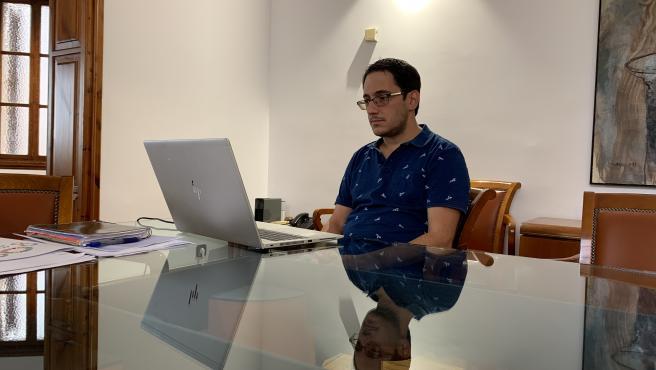El conseller de Modelo Económico, Turismo y Trabajo, Iago Negueruela.