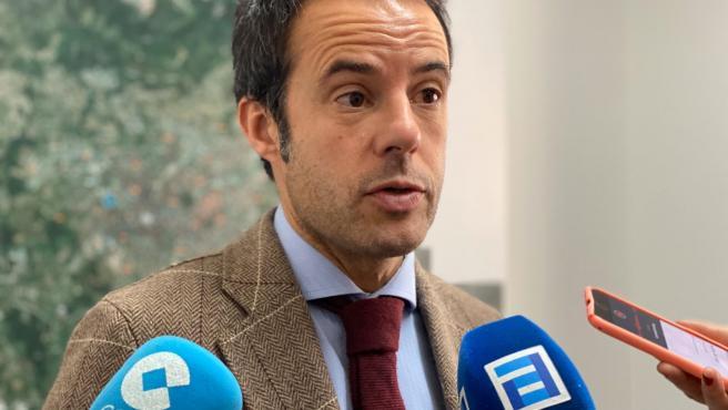El portavoz de Cs en Asturias, Ignacio Cuesta.