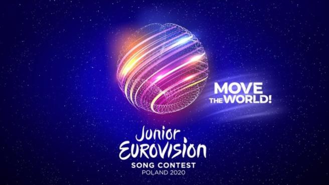 Logotipo y lema de Eurovisión Junior 2020.