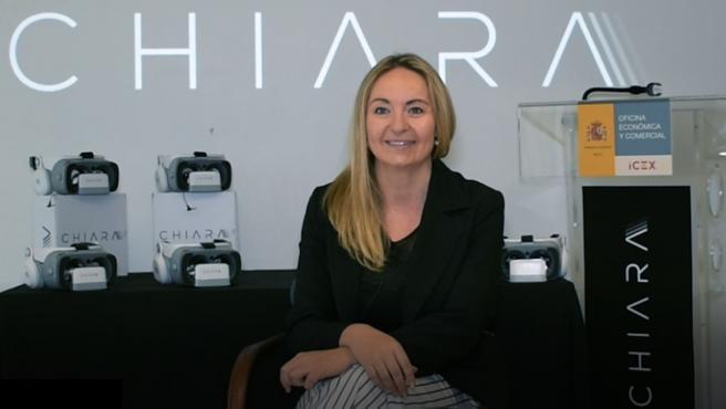 Soraya del Portillo, creadora de la startup Chiara