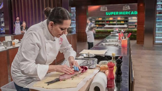 Yolanda Ramos, invitada en 'MasterChef 8'.