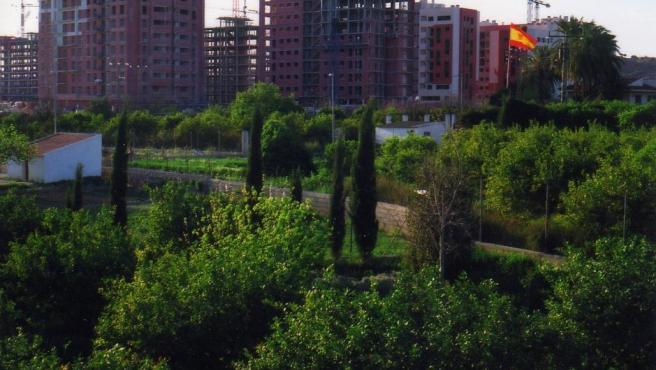 Imagen de construcciones urbanísticas