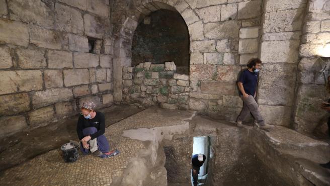 Imagen de las excavaciones