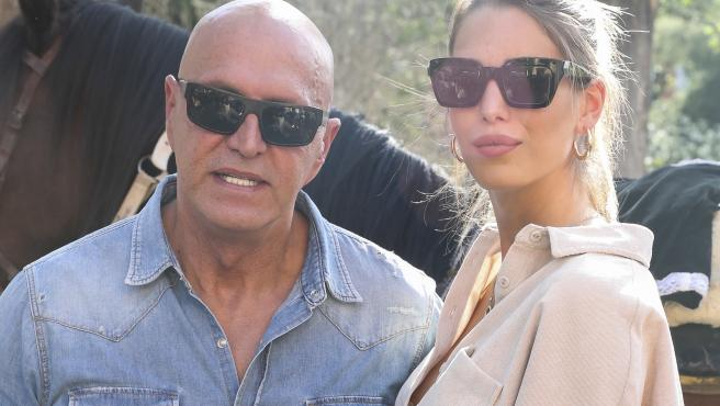 Kiko Matamoros y su pareja, Marta López Álamo, en 2019.