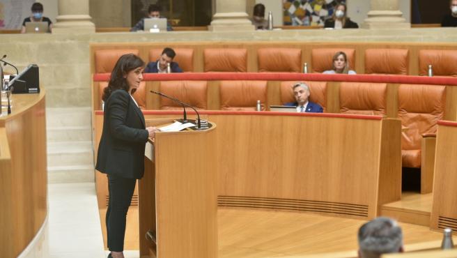 La presdienta del Gobierno riojano ha dado cuenta de su gestión del COVID-19
