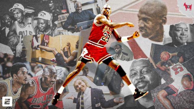 Michael Jordan, 'el más grande'.