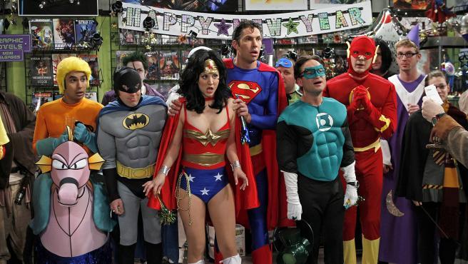 Fotograma de la serie 'Big Bang Theory'.