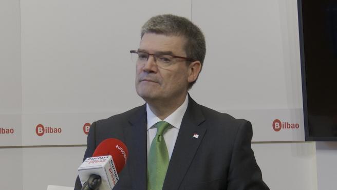 El alcalde de Bilbao, Juan María Aburto.