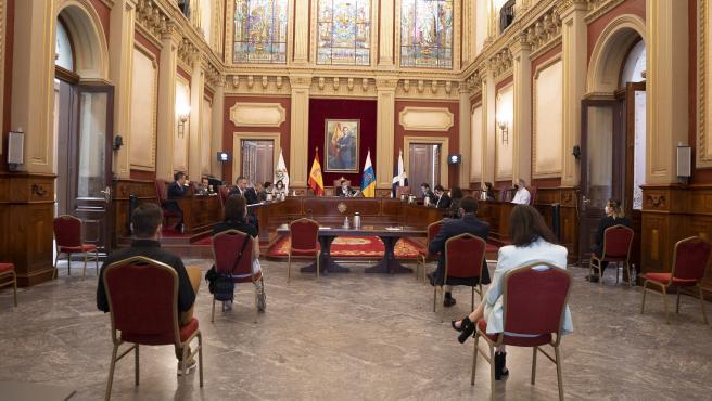 Comisión de control del Ayuntamiento de Santa Cruz de Tenerife