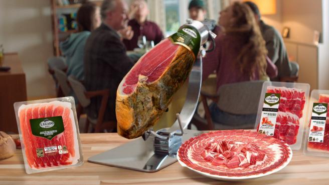 Imagen de la gama de loncheados ibéricos de ElPozo Alimentación