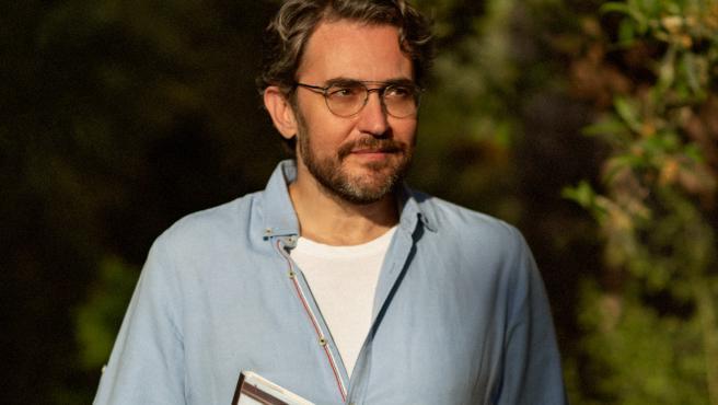 El escritor y periodista Máximo Huerta.
