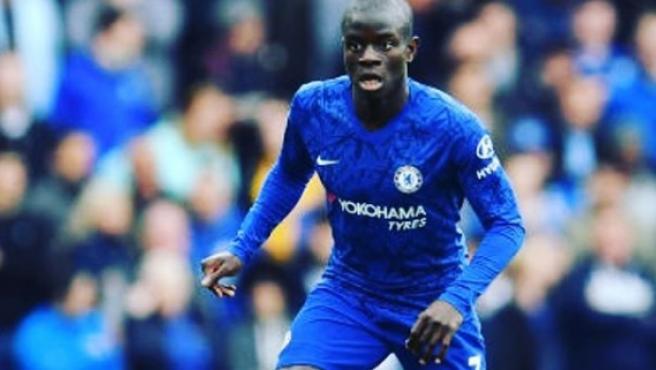 N'Golo Kanté, en un partido con el Chelsea.