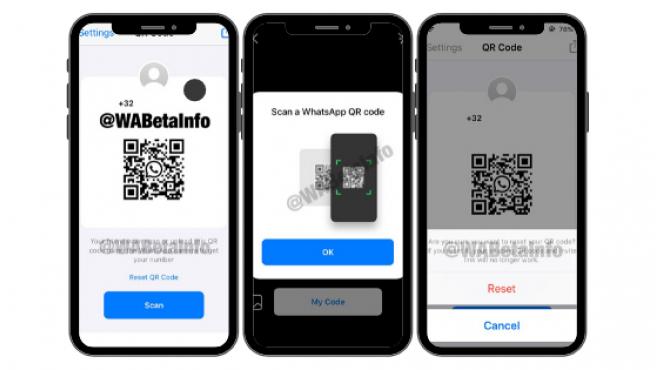 Podrás compartir el código QR, dejar que lo escaneen e incluiso generar uno nuevo.