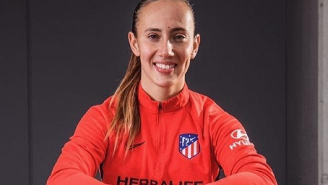 Virginia Torrecilla, jugadora del Atlético de Madrid.